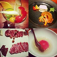 2014/8/8ディナー(農家の台所・東京・新宿) プリ画像