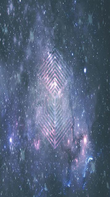 試作品☆宇宙柄の画像(プリ画像)