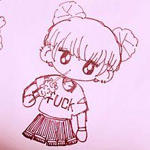 韓国風girls💕💕の画像(女の子 イラストに関連した画像)