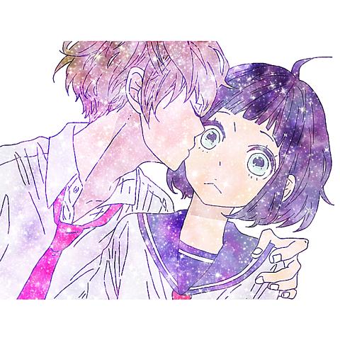 ゚ .*♡*. ゚(///‐)(‐///)゚ .*♡*. ゚キス