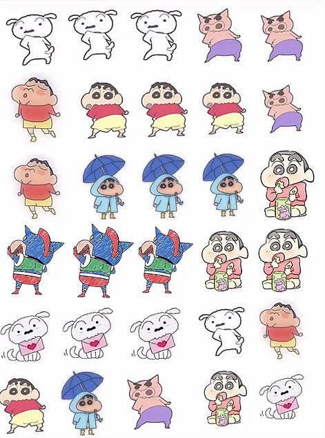 インス用 クレヨンしんちゃんの画像(プリ画像)