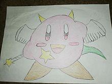 聖魔獣 クラウディーネ(オリカビ)描いてみたの画像(オリジナルカービィに関連した画像)