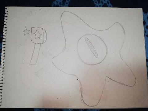 トリプルスターとダークゼロ(没絵)の画像(プリ画像)
