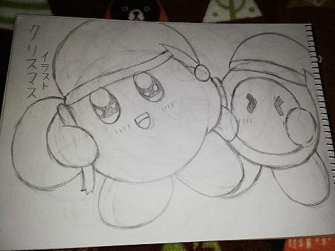 カービィ クリスマスイラストの画像(プリ画像)