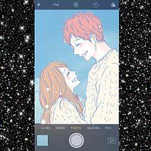 💖&💖の画像(スマートフォンに関連した画像)