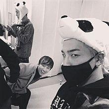 BIGBANG糸目コンビの画像(プリ画像)