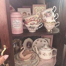 ヴィンテージの画像(ティーカップに関連した画像)