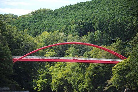 赤い橋の画像 プリ画像