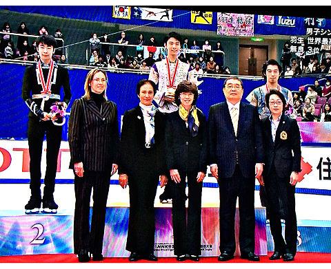 羽生結弦 NHK杯 総合優勝の画像(プリ画像)