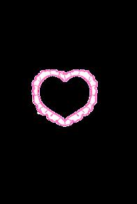 ハートフレーム ver.PINK プリ画像