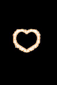 ハートフレーム ver.orange プリ画像