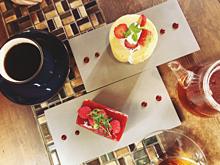 カフェの画像(紅茶に関連した画像)