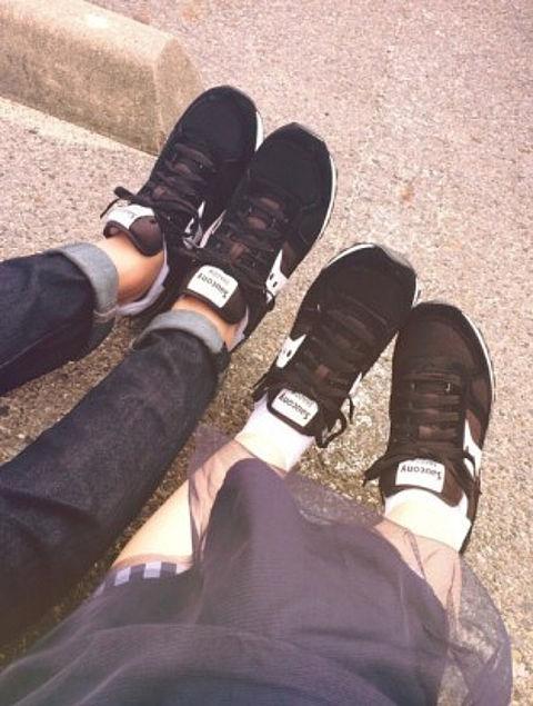 カップル 靴の画像(プリ画像)