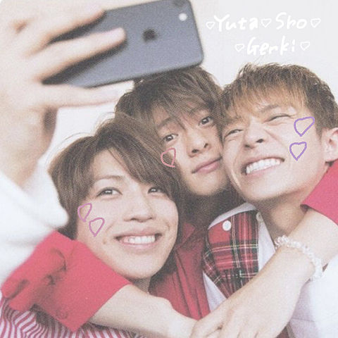 Yuta × Sho × Genkiの画像(プリ画像)
