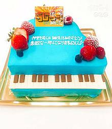 今年のらじらーいのちゃんバースデイケーキの画像(バースデイケーキに関連した画像)