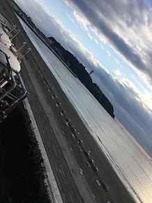 江ノ島の空の画像(空に関連した画像)