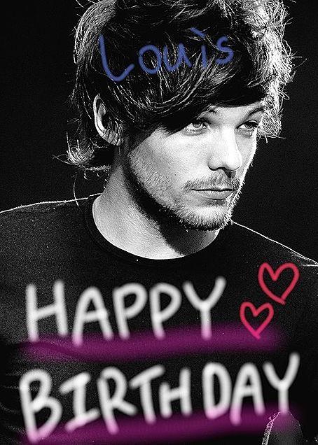 Louis Happy Birthdayの画像(プリ画像)