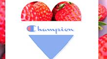 スポーツロゴの画像(イチゴに関連した画像)