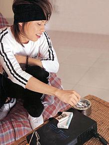 西川貴教たばこ プリ画像