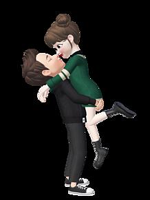 ラブラブカップルの画像(ゼペット 背景に関連した画像)