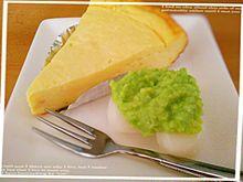 チーズケーキとずんだ餅の画像(ずんだ餅に関連した画像)