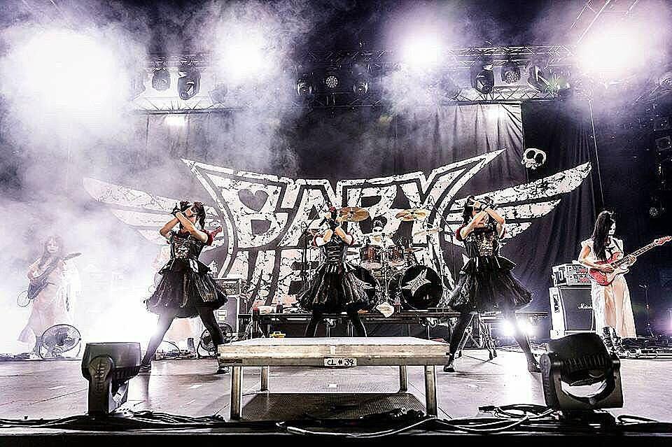 babymetalライブ画像かっこいいです!