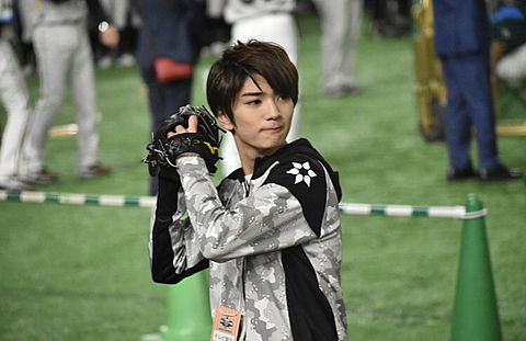 髙橋優斗 始球式の画像 プリ画像
