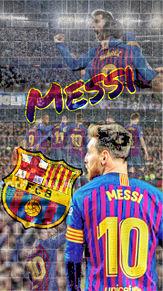 メッシの画像(バルセロナに関連した画像)