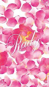 Rady💖 花びら ピンク プリ画像
