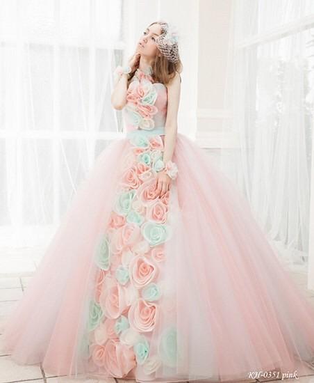 カラードレスの画像(プリ画像)
