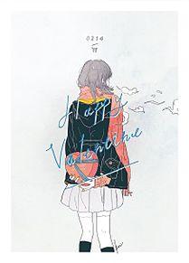 女の子 高校生 jk イラスト 制服 青春 ゆるい プリ画像