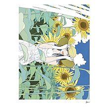 女の子 イラスト 青春 ゆるい 夏 プリ画像