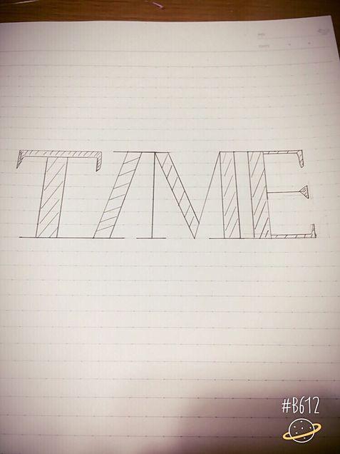 TIMEかいてみた‼︎の画像(プリ画像)