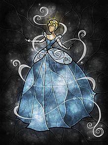 シンデレラの画像(ステンドガラスに関連した画像)