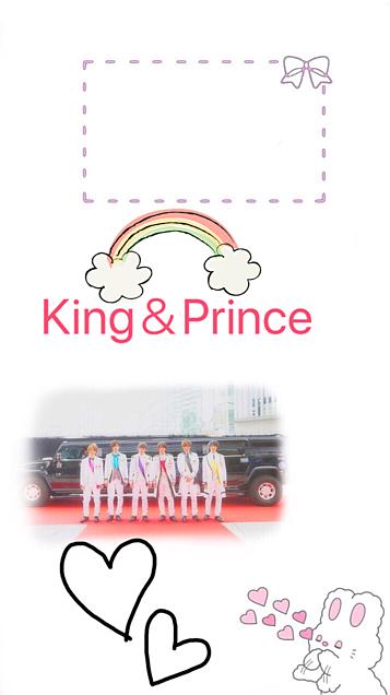 King&Princeのロック画面の画像(プリ画像)