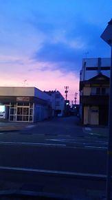 夕焼け→夜への画像(プリ画像)