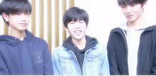 高橋恭平&長尾謙杜&赤名竜乃介の画像(赤名竜乃介に関連した画像)