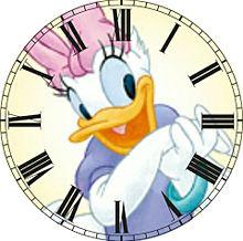 ドナルドデイジーで時計加工してみた(öᴗ<๑)の画像(デイジーに関連した画像)