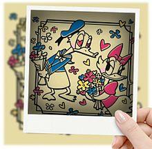 ドナルドダック&ドナルドデイジーで画像加工してみた(öᴗ<๑)の画像(ドナルドダック デイジーに関連した画像)