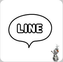 オラフでラインアイコン作ってみた(öᴗ<๑)の画像(ラインアイコンに関連した画像)