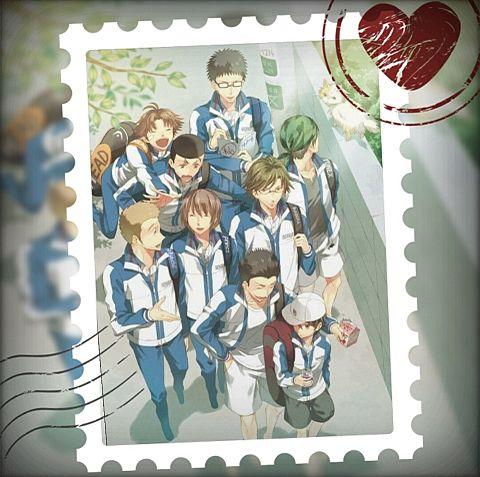 テニスの王子様で切手風加工してみた(*´ω`*)の画像 プリ画像