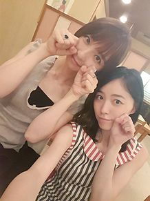 松井珠理奈&篠田麻里子の画像(プリ画像)