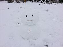 雪だるま プリ画像