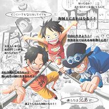ONE PIECE / 三兄弟の画像(漫画アニメに関連した画像)