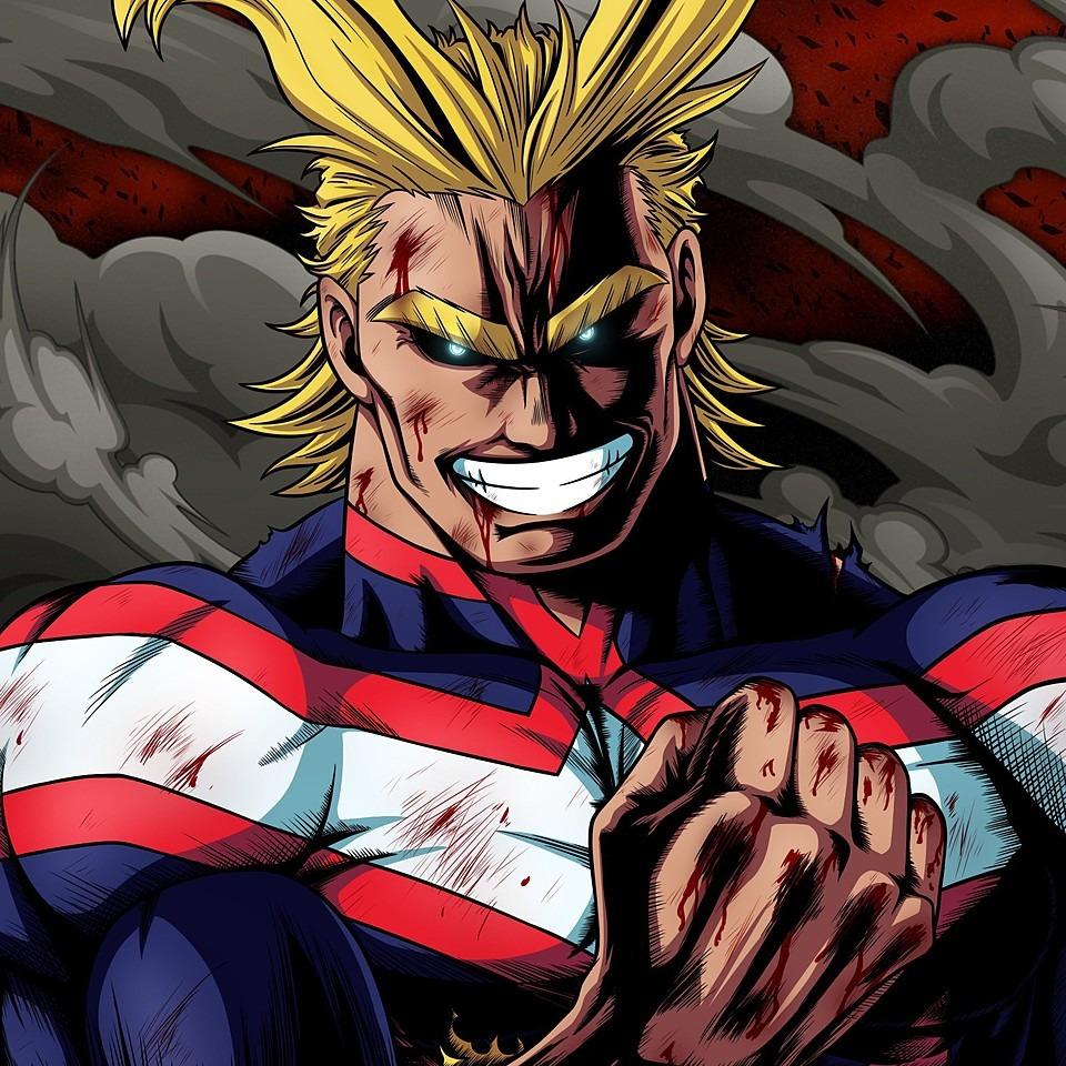 オールマイトことがヒーロー。僕のヒーローアカデミア