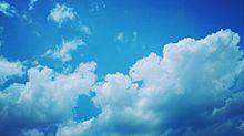 見上げた空の画像(プリ画像)