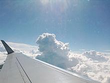 飛行機からの空の画像(空に関連した画像)