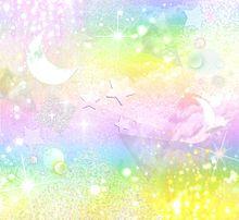 宇宙柄 パステル カラフル ゆめかわいいの画像(プリ画像)