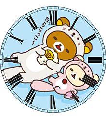 リラックマ&コリラックマで時計加工してみた(öᴗ<๑)の画像(時計に関連した画像)