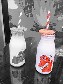 クッキータイム原宿店 ペア画 ミルクの画像(クッキータイムに関連した画像)